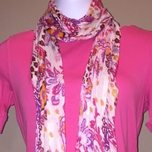 Accessories - Floral Summer Scarf